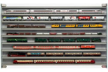 Modellbahnvitrinen für Spur H0 und N